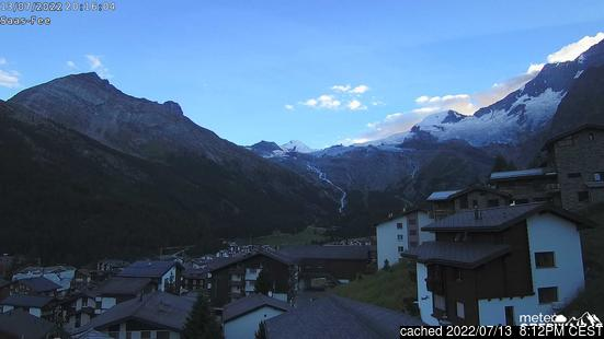 Live Webcam für Saas Fee