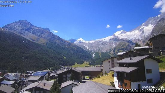 Webcam en vivo para Saas Fee