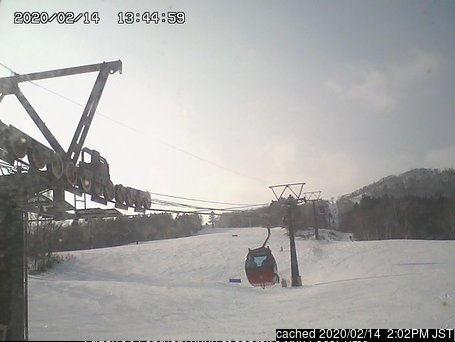 Sahoro Resort webkamera ze včerejška ve 14 hod.