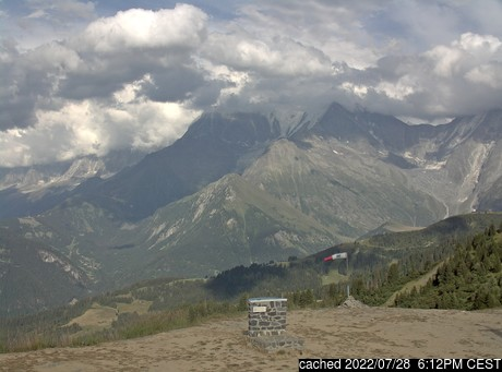 Live Snow webcam for Saint Gervais