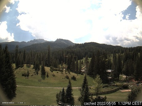 San Cassiano (Alta Badia) webcam at lunchtime today