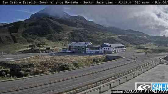 Live Sneeuw Webcam voor San-Isidro