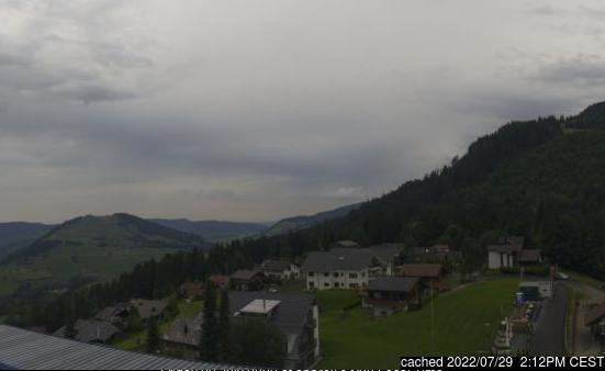 Sattel - Hochstuckli webcam at 2pm yesterday
