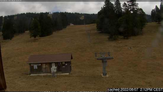 Savagnières - Bugnenets webcam at lunchtime today