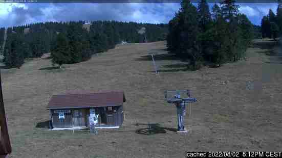 Live Snow webcam for Savagnières - Bugnenets