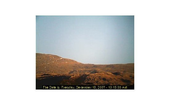 Scafell Pike webcam at 2pm yesterday