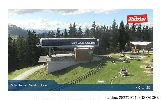 Webcam de Scheffau à midi aujourd'hui