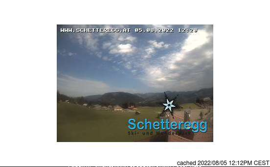 Schetteregg (Egg) webcam at lunchtime today