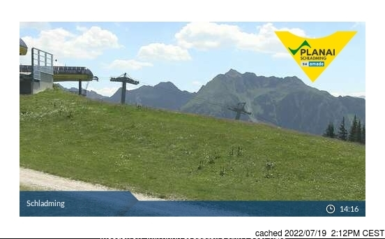 Schladming webcam at lunchtime today