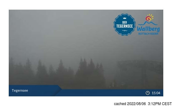 Live Snow webcam for Schliersee