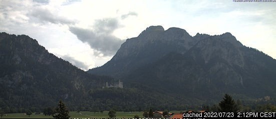 Schwangau webcam at lunchtime today