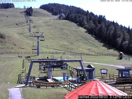 Live Snow webcam for Seefeld-Reith/Gschwandtkopf