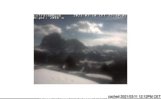 Webcam de Val Gardena à midi aujourd'hui