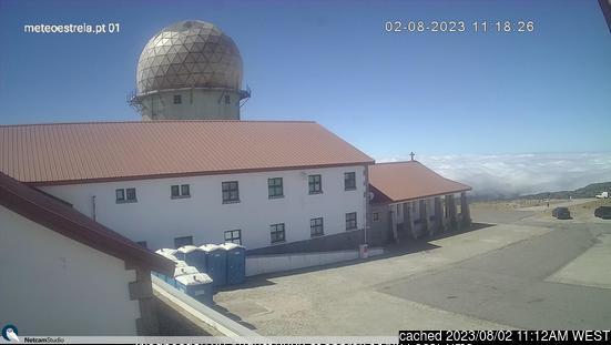 Serra da Estrela webcam op lunchtijd vandaag