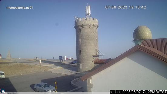Live Sneeuw Webcam voor Serra da Estrela