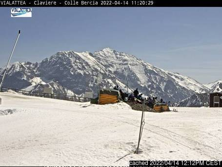 Webcam de Sestrière (Via Lattea) a las doce hoy