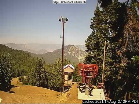 Alta Sierra at Shirley Meadows webcam at 2pm yesterday