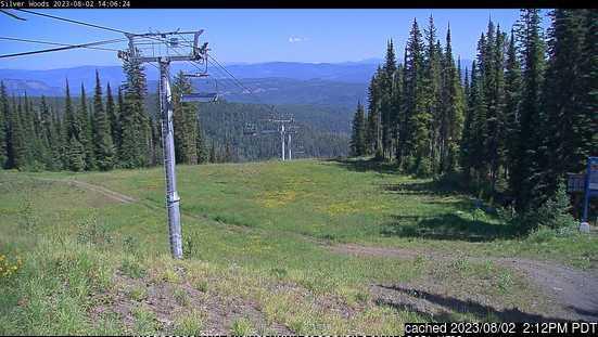 SilverStar webcam at 2pm yesterday