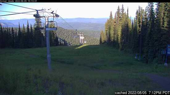 Live Snow webcam for SilverStar