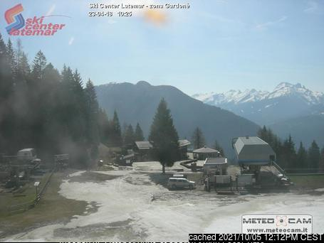 Ski Center Latemar webcam at lunchtime today