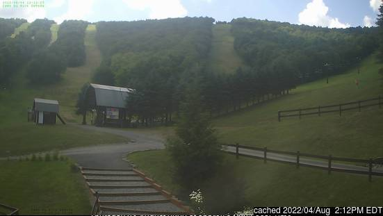 Ski Plattekill webcam at 2pm yesterday