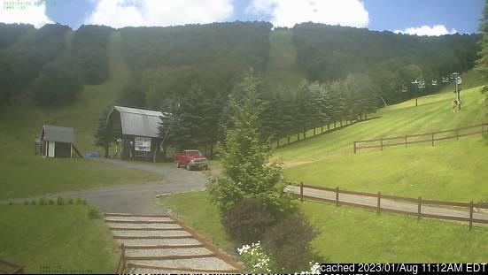 dün saat 14:00'te Ski Plattekill'deki webcam
