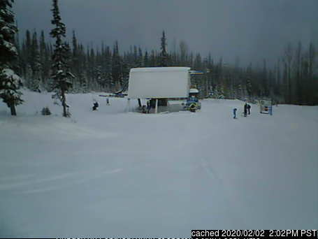 Hudson Bay Mountain webcam at lunchtime today