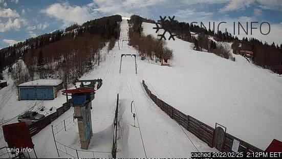 Slavsko webcam at lunchtime today