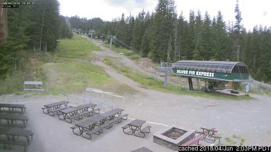Summit at Snoqualmie webcam at lunchtime today