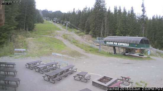 Webcam de Summit at Snoqualmie à 14h hier