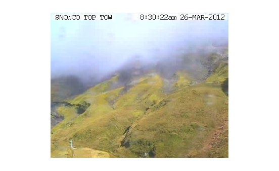 Snow Farm webcam at 2pm yesterday
