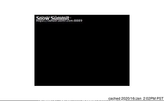 Snow Summit webcam op lunchtijd vandaag
