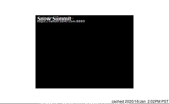 Webcam de Snow Summit à 14h hier