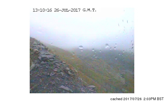 Snowdon webcam at 2pm yesterday