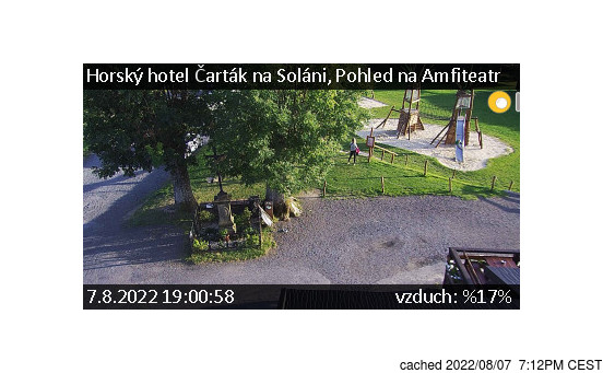 Live Snow webcam for Soláň - Vrchol a Sedlo