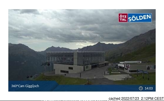 Webcam de Sölden à 14h hier