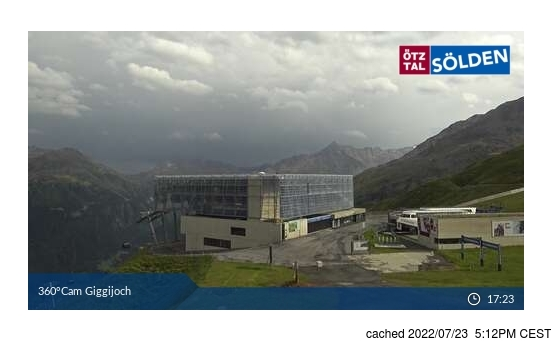 Live webcam per Sölden se disponibile