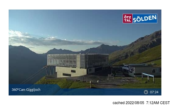 Webcam Live pour Sölden