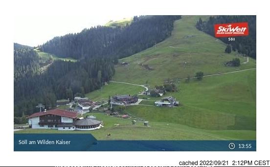Söll webcam hoje à hora de almoço