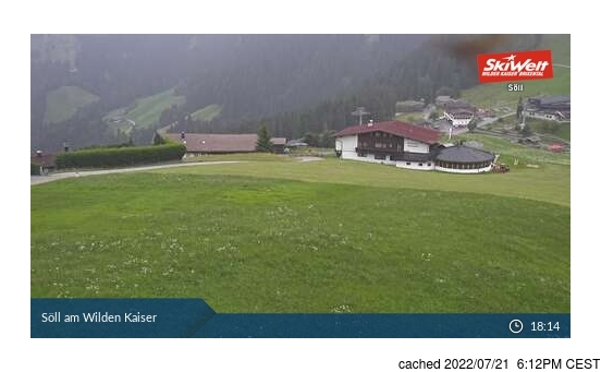 Live snöwebbkamera för Söll