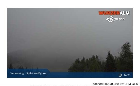Spital am Pyhrn webcam at 2pm yesterday