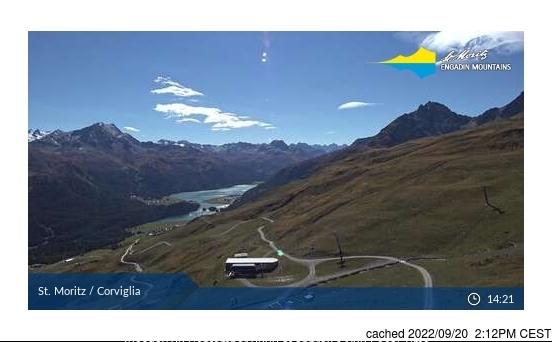 Webcam de St Moritz a las 2 de la tarde hoy