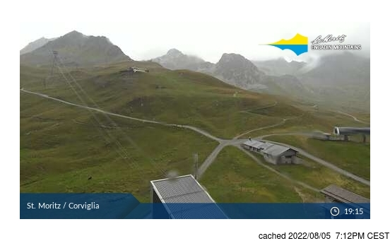 Live Snow webcam for St Moritz