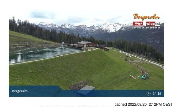 Steinach/Silbersattel webkamera ze včerejška ve 14 hod.