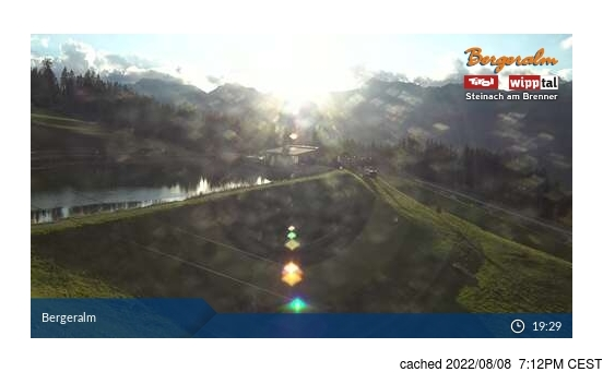 Live Snow webcam for Steinach/Silbersattel