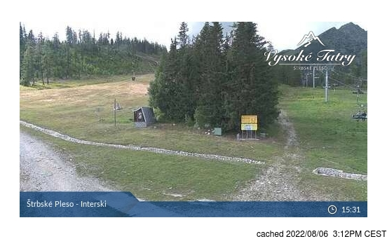 Live Snow webcam for Štrbské Pleso