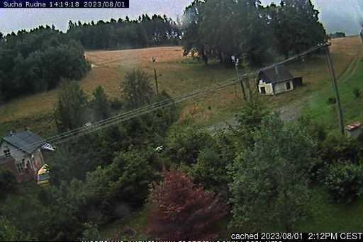 Suchá Rudná - Andělská hora (Annaberg) webcam at lunchtime today