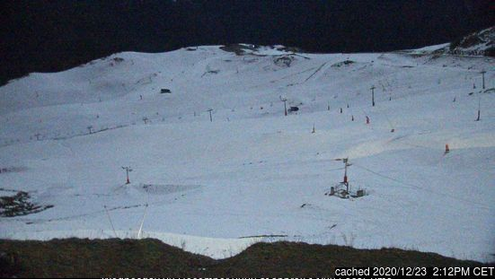 Superbagneres webcam at lunchtime today