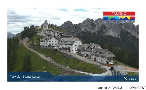Tarvisio webcam at lunchtime today