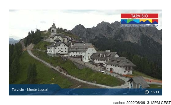 Live Snow webcam for Tarvisio